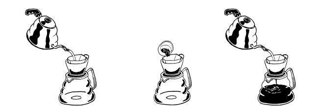 Apex Brewing Guide - Hario Kettle Porcelain Dripper Clean Range Server Paper Filter - Drip Coffee